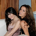 Celeste Thorson & Claudia Salina Hollywood Starletts