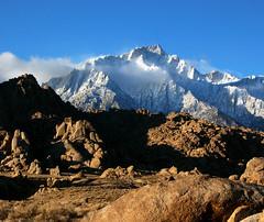 Lone Pine Peak (sandy.redding) Tags: california mountains landscape landscapes alabamahills lonepinepeak naturescall anawesomeshot treeofhonor shotwithstevemendenhall shotwithrogermoorehead nikkor18200mmf3556g