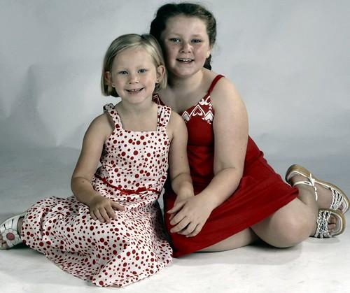 Amy & Christy Dec 2007