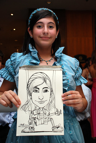 Caricature birthday party 301207 5