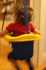 (moominmolly) Tags: blur natalie jumpyseat bouncing