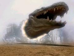 Deinosuchus enters the time door