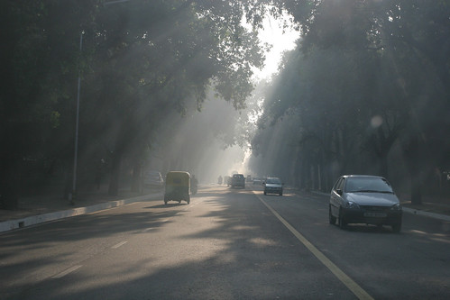 Smoke in Delhi