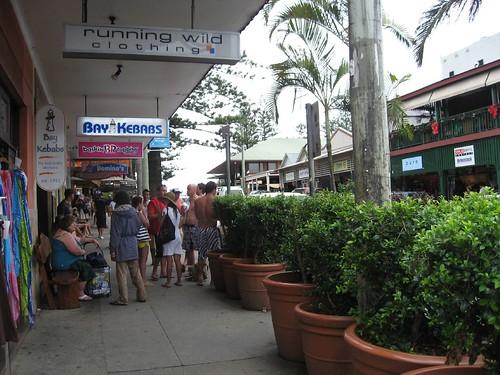 Shops in Byron Bay