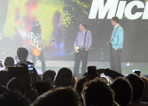 Slash at Gates' Keynote