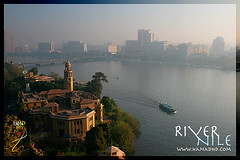 River Nile (Hamad Al-meer) Tags: travel water canon river landscape eos view egypt nile cairo hd 1785 hamad 2007 30d mywinners anawesomeshot hamadhd hamadhdcom