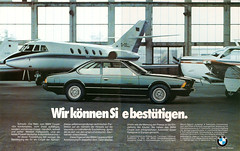 Reklame BMW 6er Coupe E24 (1977) (jens.lilienthal) Tags: auto old classic cars car vintage advertising reclame ad voiture advertisement advert older bmw autos werbung reklame voitures anzeige 6er e24 amzeige zeitungsreklame