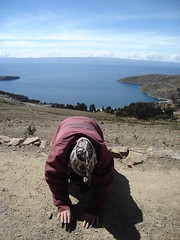 Pacha Mama (Stef'...) Tags: lake titicaca america bolivia pachamama bolivie isladelsol lactiticaca