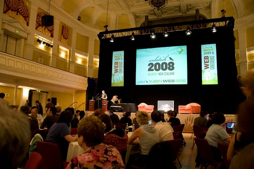 The Town hall during Webstock