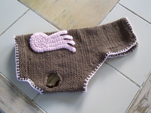 Angel Dog Sweater