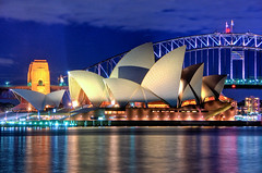 Sydney Opera House at night Close up HDR Sydney Australia (Linh_rOm) Tags: night d50 landscape lowlight nikon nightshot australia clear operahouse 2008 reflexions recent sydneyoperahouse cs3 sydneyaustralia 18200mm photomatix sydneyhabour digitalblending supershot 10faves 20faves 18200vr spectnight australialandscape aplusphoto auselite bestofaustralia australia2008 sydney2008operahousebridge 18200mmnikon sydneyoperahouse2008