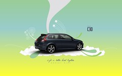 Barent Blue Volvo c30 (Gui Rio) Tags: desktop wallpaper car illustration gteborg design volvo graphic sweden gothenburg screen resolution sverige gotland svenska gotheborg c30 volvoc30 volvoc30wallpaper volvoc30wallpapers volvoc30desktopwallpaper c30wallpaper c30wallpapers