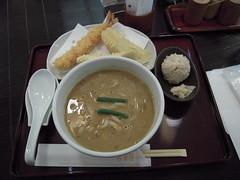"""Curry """"Udon"""" noddle at """"Konaya"""" Restaurant"""