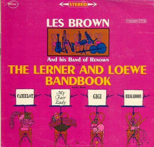 LP Les Brown 2 CD Back Up FREE Shpping Bandbook