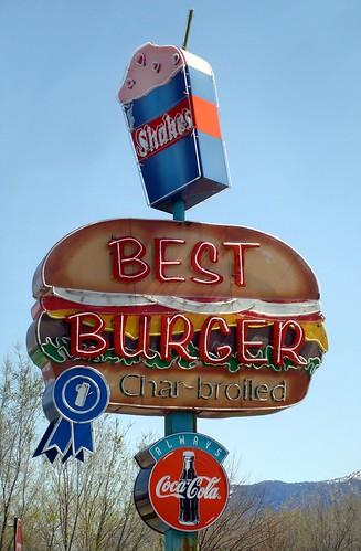 Best Burger Neon