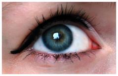 Ego (Nathalie Mark) Tags: portrait selfportrait eye self ego star eyelashes plastic eyelash lash eyeliner dipliner