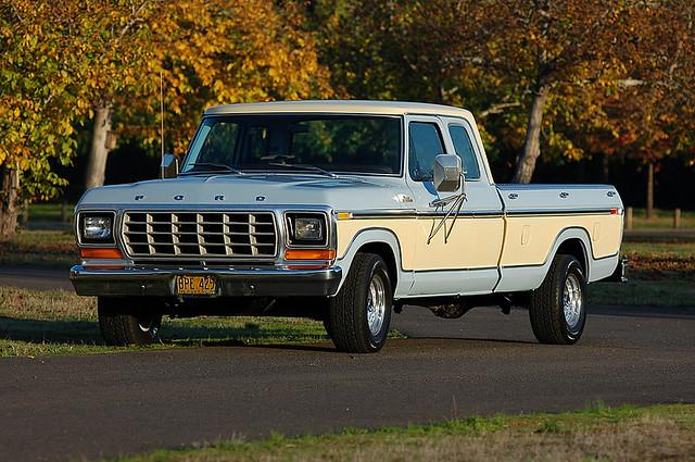 classic cars ford f150 trucks 1978 lariat supercab