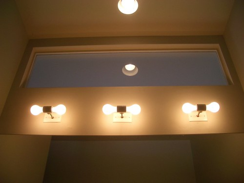 bathroom lights by rossfindly.