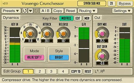 Voxengo Crunchessor 2.0