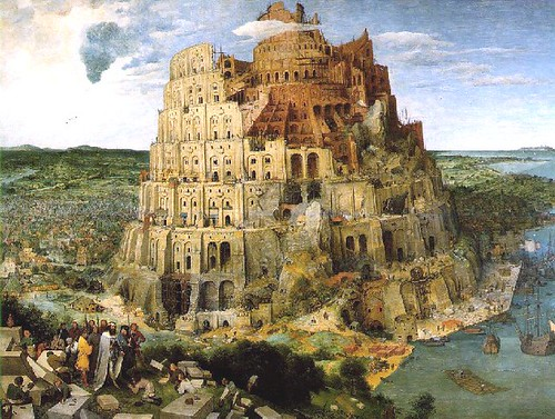 La torre de Babel. Kunst Historiches Museum. Viena. 1563.