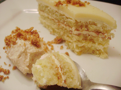 Daring Bakers, May: A Taste of Light--Opéra Cake