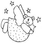 Urso anjo (Lucia Helena Cesar) Tags: feltro anjo urso riscos moldes aplicao patchcolagem