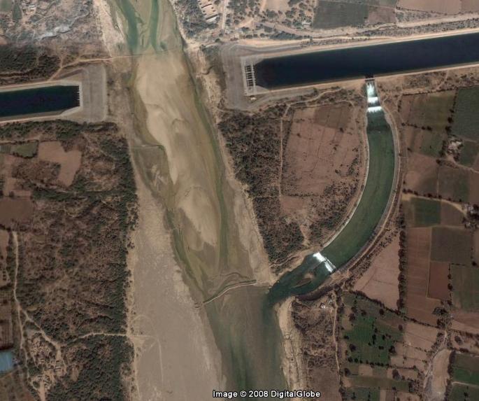 Here Narmada Waters Recharging Sabarmati In Ahmedabad Image Hosted On Flickr