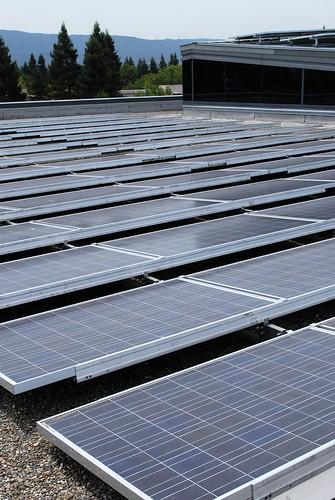 Google's solar roof