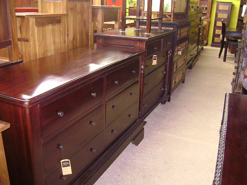 Mahogany Buffet with Drawers