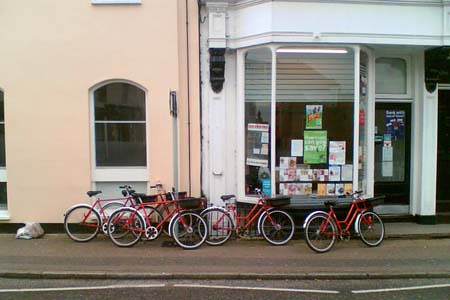 Royal Mail bicycles @ Coggeshall