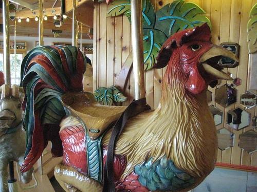 Lark Toys carousel rooster