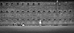 4-year old Escapes Melbourne Jail. Teenagers Indifferent. (Damien Walker) Tags: delete5 delete2 delete6 save3 delete3 save7 save8 delete delete4 save save2 save9 save4 save5 save10 save6 savedbythehotboxuncensoredgroup