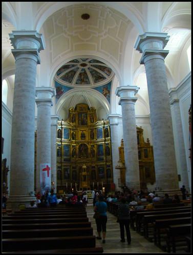 Interior Iglesia de la Magdalena