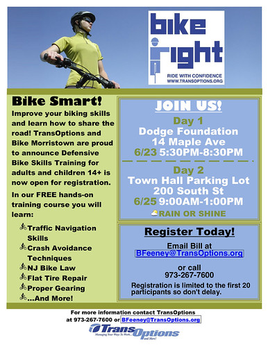 Bike Right Flyer - Morristown by kendra e