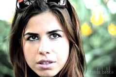 Andi (rondo.babka) Tags: portrait woman girl beautiful beauty face pose model eyes picnik d300 d80 nikond80 nikond300
