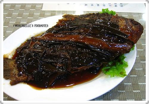 永康街高記小菜蔥燒鯽魚