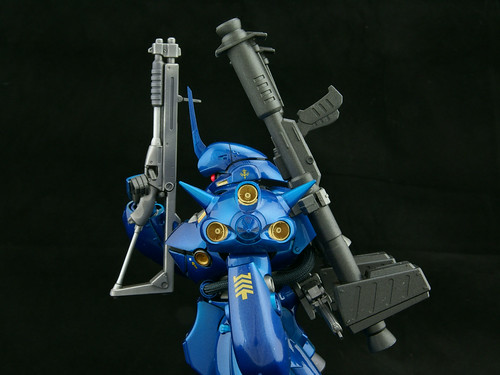 gundam 0080. Gundam 0080: kampfer-02. Somehow I like the side profile.