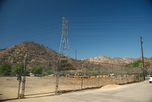Griffith Park on the East Bank of the Los Angeles River