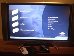 my tv @ the mandarin (odd-dree) Tags: japan mandarinoriental