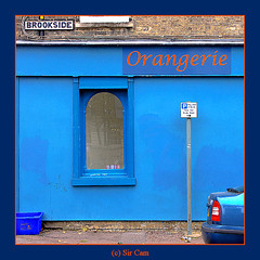 Is blue orange? (Sir Cam) Tags: blue cambridge england shop brookside orangerie supershot sircam mywinners aplusphoto diamond