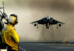 AV-8B Harrier (forstonsr) Tags: marines harrier jumpjet 31stmeu ussessex flightops av8b