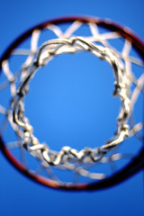 Bottom's Up (Erik Holmberg) Tags: sky net basketball canon hoop eos 50mm f14 bball hoops 40d