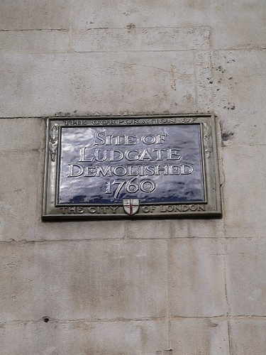 52. Site of the Ludgate