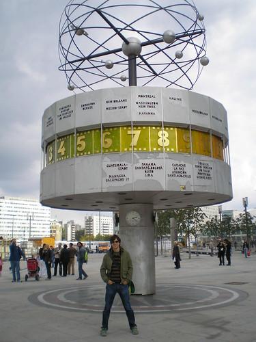 Apoyando a los madrugadores en el reloj mundial