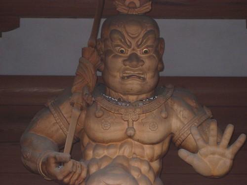 安楽寺仁王