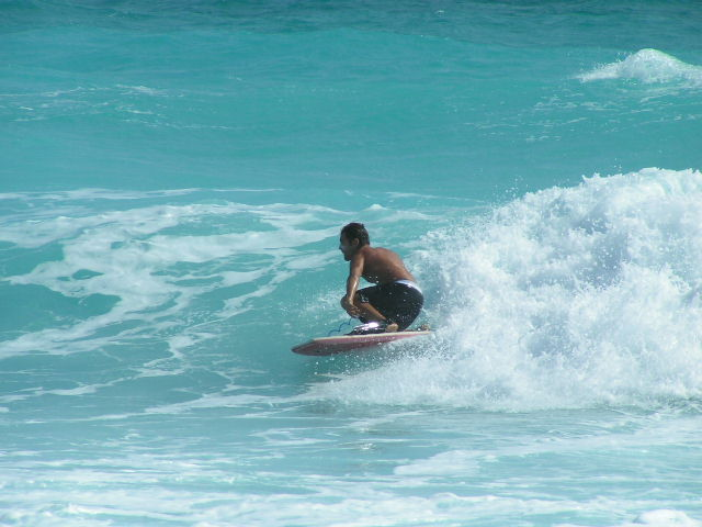 bodyboard cancun mexico