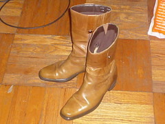 My newly resoled boots