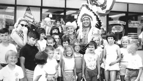 Sally Starr & Chief Halftown 1960