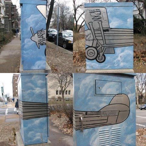 junction box art spirit of st louis 290108