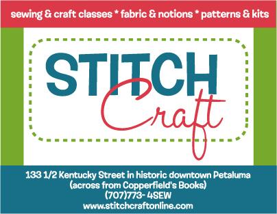 StitchCraft in Petaluma!